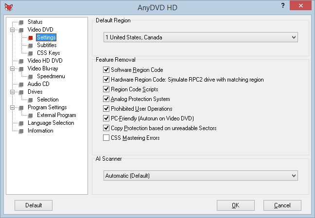how to use anydvd to copy dvd