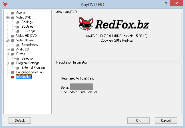 anydvd how to use